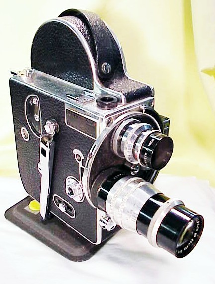 Bolex H16 Standard with 25mm and 75mm Lenses