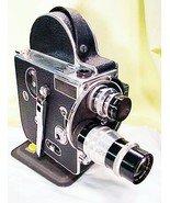 Bolex H16 Standard with 25mm and 75mm Lenses - $359.00