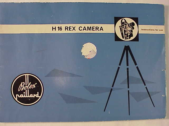 H16 REX Camera Instructions 48pg (xerox)