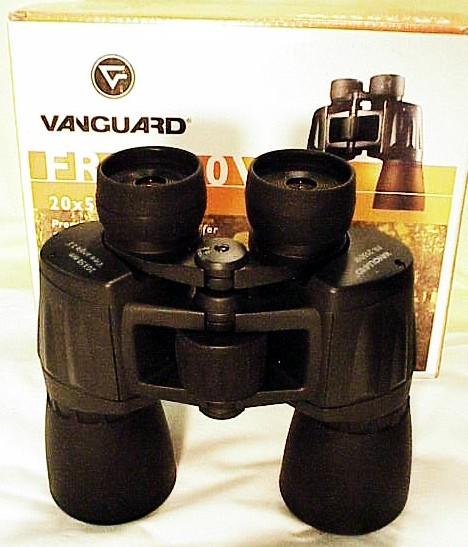 20 x 50 Vanguard Rubber Armored Binoculars (new)