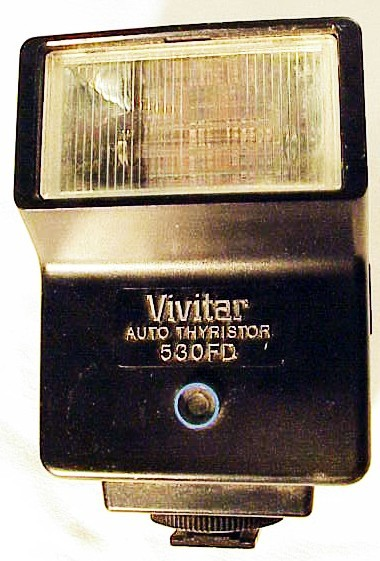 Vivitar 530 FD Flash for Minolta/Pentax/Olympus  (No 54)