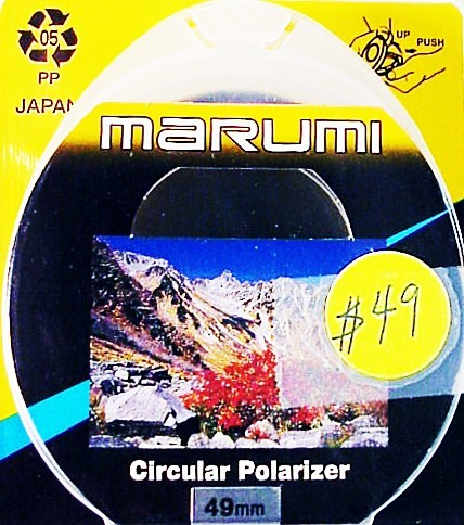 49mm Marumi Circular Polarizer (New)
