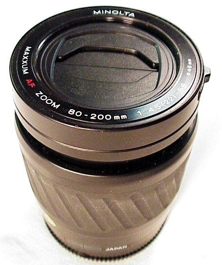 80-200mm f4.5 Maxxum Lens for 5000/7000