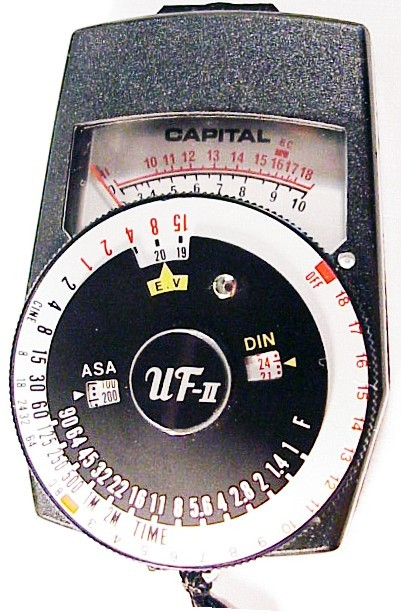 UFII Cds Exposure Meter