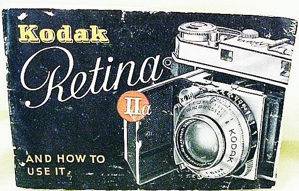 Retina IIa Instructions 37p. (xerox)