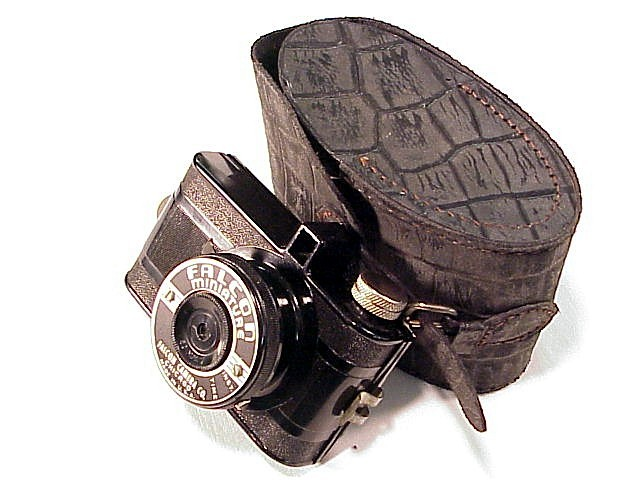 Falcon Minature with Alligator Case (127 film) (No 28)