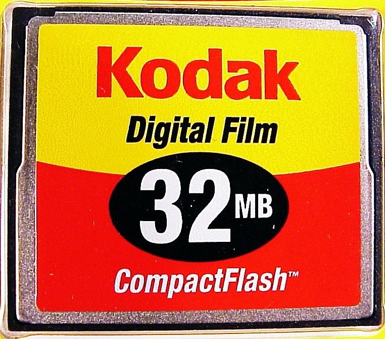 32GB Kodak Compact Flash Cards (new)
