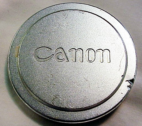 Canon Rangefinder Cap (fits 58mm filters)