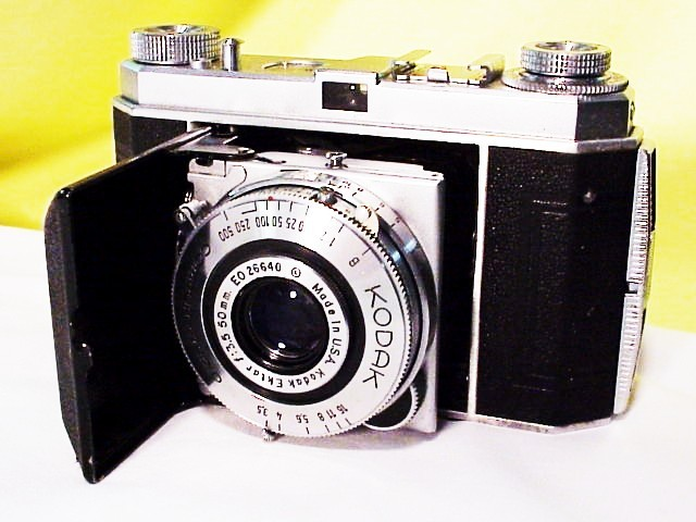 Retina I with 50mm f3.5 Ektar (made in USA lens) in Compur R