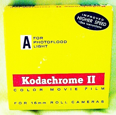 Kodachrome II 100 Ft 16mm Movie Film (Jan 1964)