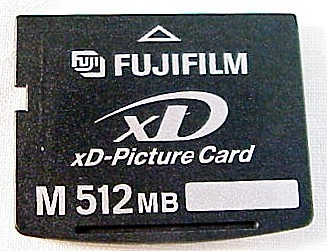 512MB FujiFilm XD Picture Card (used)
