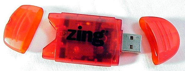 SD Card Reader (Zing brand)