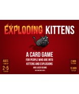 EXPLODING KITTENS - Base Game - Open Box - Sealed contents - $25.00