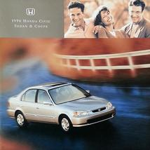 1996 Honda CIVIC COUPE SEDAN brochure catalog US 96 LX HX EX - $9.00