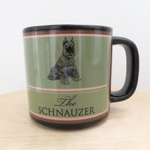 The Schnauzer Dog Coffee Tea Cup Mug Animal Lover Pet Owner Russ Berrie ... - $9.98