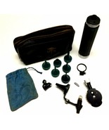 Vintage Diagnostic Otoscope Ophthalmoscope Set Original Case Medical Ins... - $116.82
