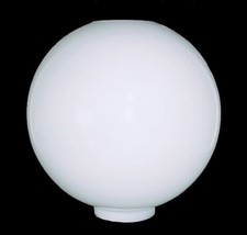 "AS IS Milk Glass Gone with the Wind Lamp Shade 4"" X 12"" Ball Electric Oi... - $94.95"