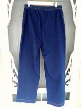 Denim & Company Elastic Waist Jeans Size LT Dark Blue image 5
