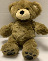 RARE Build A Bear BEAREMY Black Faux Leather Paws 1999 Retired 1st Edition - $21.92