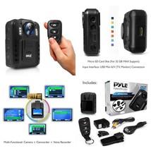 Pyle Premium Portable Body Camera, Wireless Wearable Camera, Person Worn... - $101.92