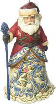 Jim Shore Heartwood Creek Norwegian Santa Stone Resin Hanging Ornament, ... - $36.46