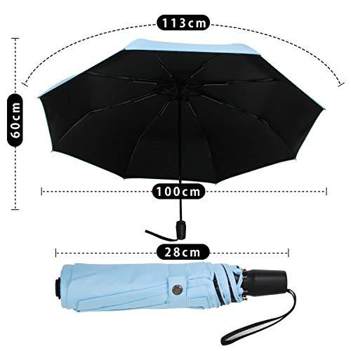 UV Protection Travel Umbrella, Ultra Light Sun Blocking Umbrellas