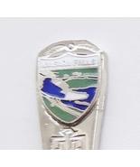 Collector Souvenir Spoon Canada Ontario Niagara Falls US New York Native Design - $4.99