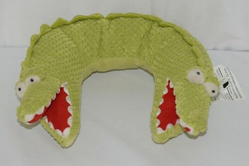 Primary image for Maison Chic Brand 608067 Cotton And Polyester Two Head Alligator Neck Pillow
