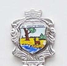 Collector Souvenir Spoon Netherlands Vechtstreek Vecht River Deer Chippe... - $9.98