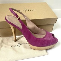 Cole Haan Mariela Air Beet Pink Womens Platform High Heels Pumps Size US... - $38.59