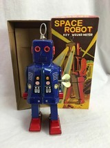 Schylling Collector Blue Color Space Robot Toy - $9.49