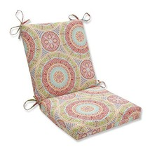 Pillow Perfect Outdoor | Indoor Delancey Jubilee Squared Corners Chair C... - £30.49 GBP