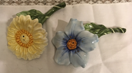 "Vtg. Charter Club Home ""Wild Flowers"" Figural Salt & Pepper Shaker Novel... - $15.00"