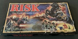 Vintage 1992 Risk Board Game by Parker Brothers Complete in Excellent Co... - $34.64