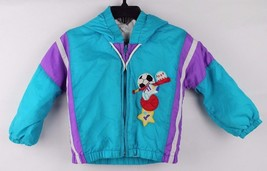 Vintage toddler Kids Climate control by Fashion hoodie zip jacket size 1... - $12.90