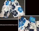 Toddler swim shorts web blue   white floral collage thumb155 crop