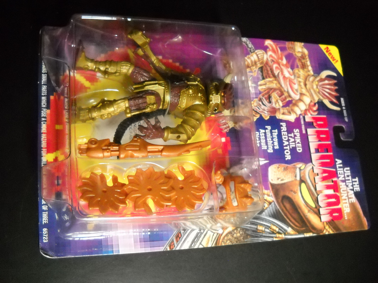 Toy predator kenner 1994 spiked tail predator moc 02