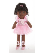 "Delton Products Apple Dumplin Black Ballet Doll, Cloth, 14"", 4098-9 - $569,78 MXN"