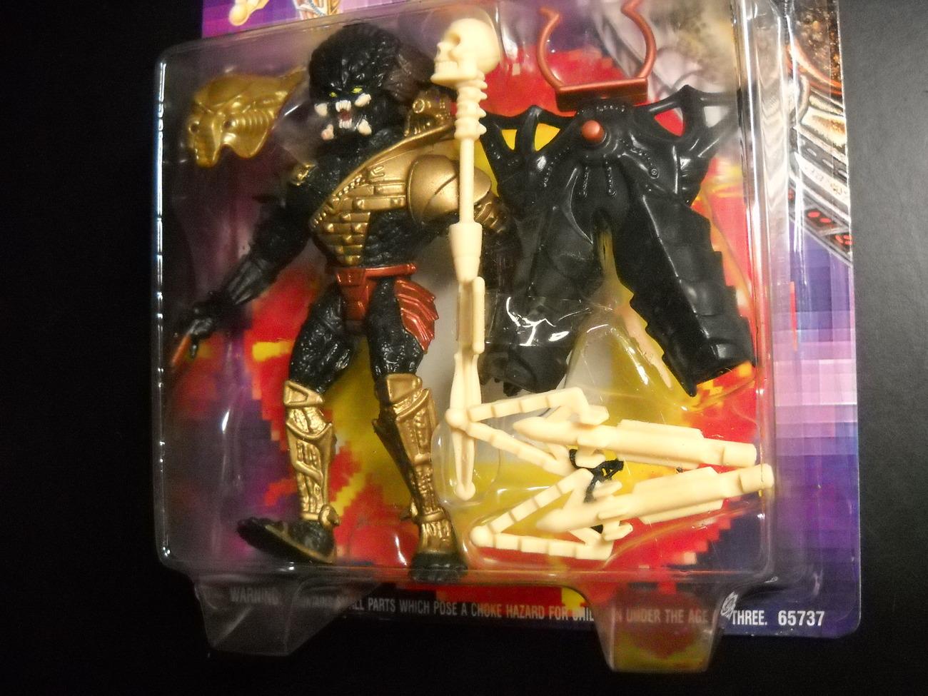 Kenner Predator 1994 Nightstorm Predator with Turbo Blast Factory Sealed On Card