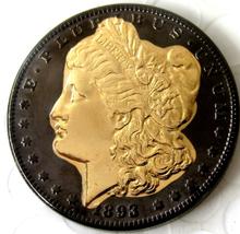 1893 CC Black Gold Morgan Dollar Token Free Shipping - $29.99