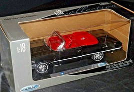 1963 Chevrolet Impala convertible replica Welly AA20-NC8172 Vintage Collectible
