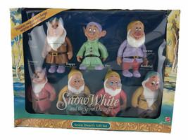 1992 Walt Disney's Snow White & The Seven Dwarfs Magical Color Changing Figures - $37.87