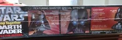 Star Wars Darth Vader Snap Action Model, 1978, Breath Sounds, illuminated eyes