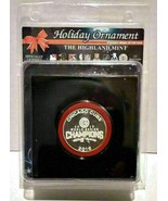 The Highland Mint Chicago Cubs 2016 World Seires Champions Holiday Ornament - $14.99