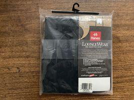 Hanes Mens Boxer Shorts Loungewear 40-42 Black Vintage 1998 NWT New image 3