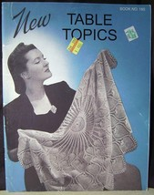 New Table Topics Book No.185 - Iris, Flower,table cloths, place mats, co... - $6.44