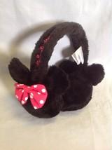 Disney Minnie Mouse Earmuffs Pink White Polka Dot Bow Girls 4-16 - $9.99