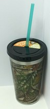 Novelty Reusable BPA Free Camo Themed 16oz Cup With Straw - $9.89
