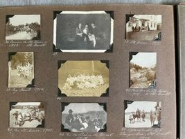 Antique Photo Book Album Boy Scouts 1914 Hotel Bellavista Chile Argentina image 11