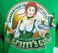 St. Patty's Girl Men's Graphic T-Shirt Size 3XL Green Beer Fishersportswear 2010 - $20.67